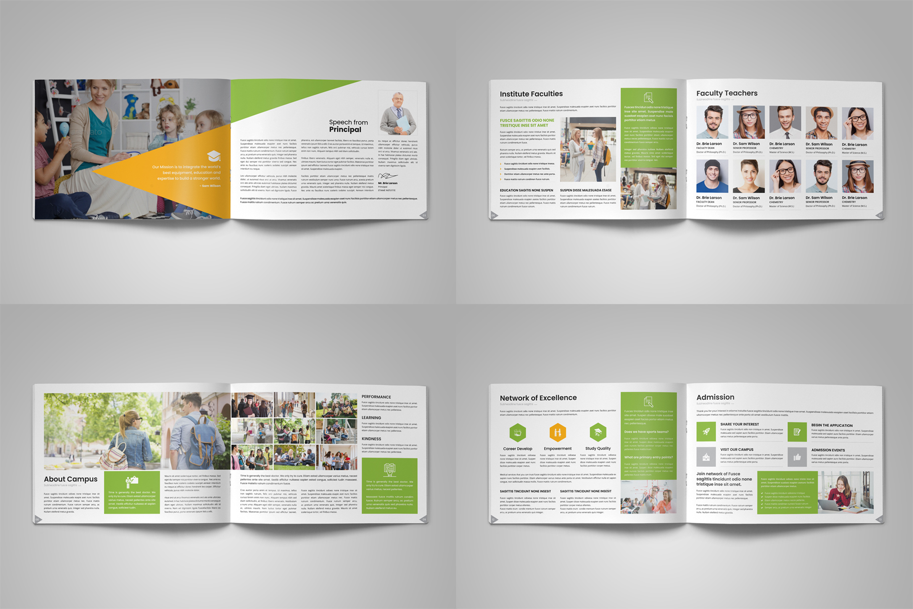 Education Prospectus Brochure v12 example image 14