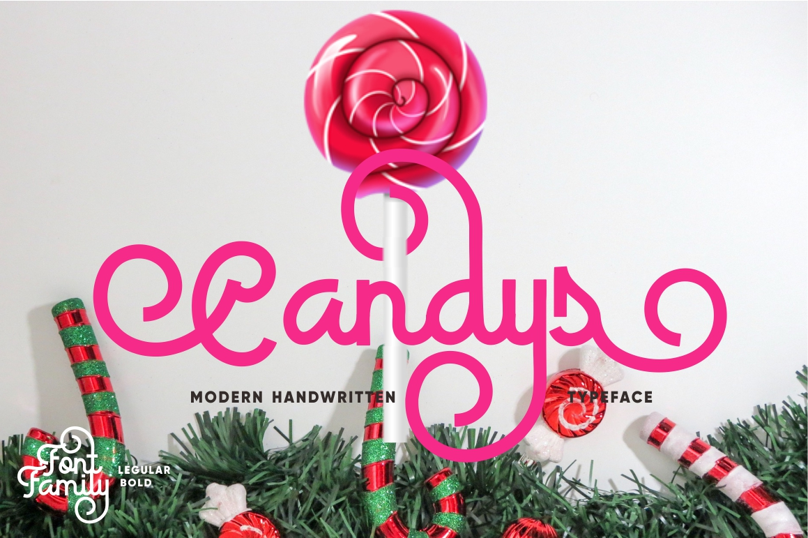 Candys Typeface 40% Off example image 1