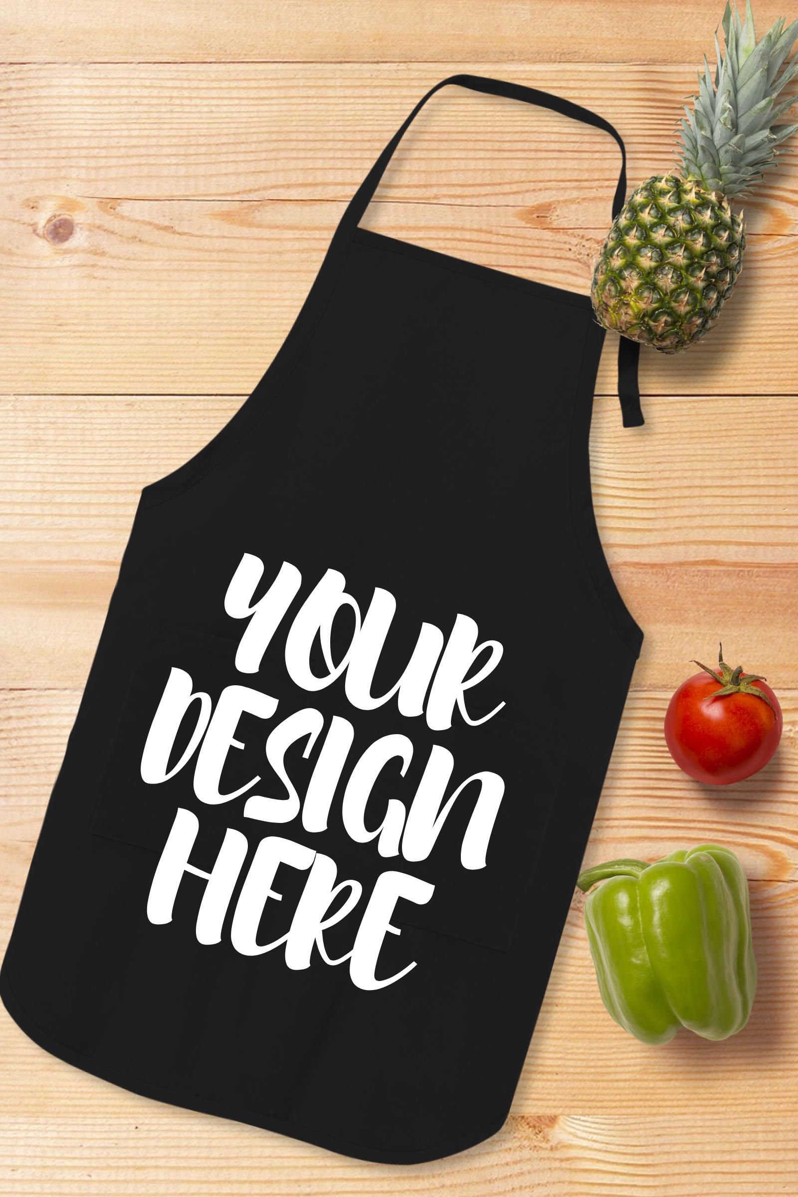 Apron Mock Ups Bundle With Kitchen Theme - 6 example image 7
