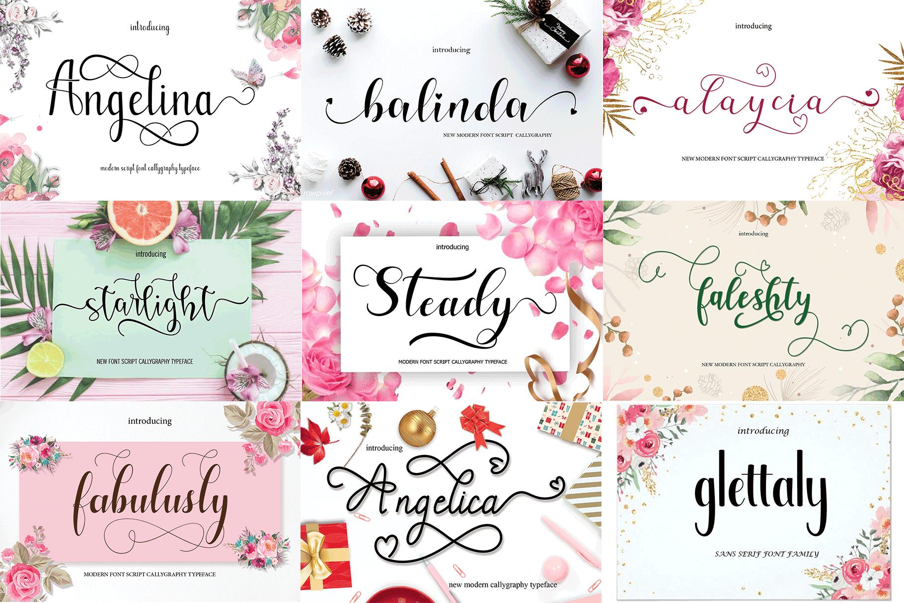 20 extraordinary hand fonts example image 7