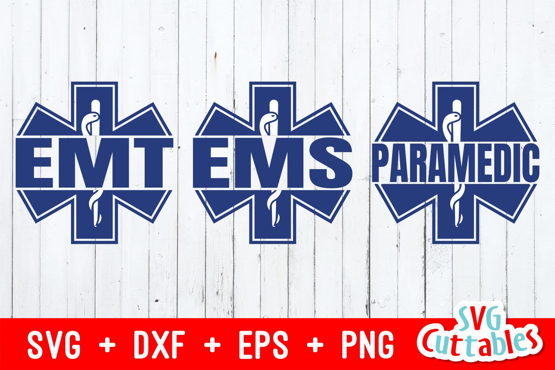 Paramedic / EMT Bundle 1 | SVG Cut File example image 3