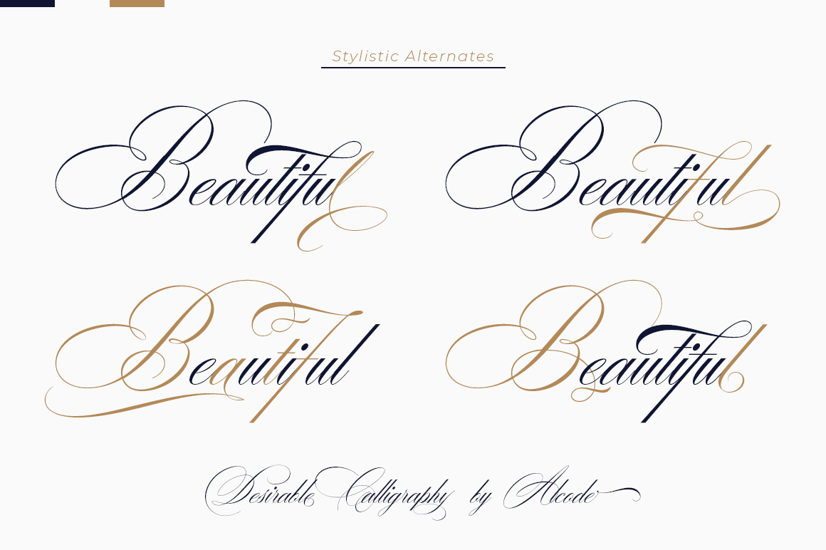 Desirable calligraphy example image 3