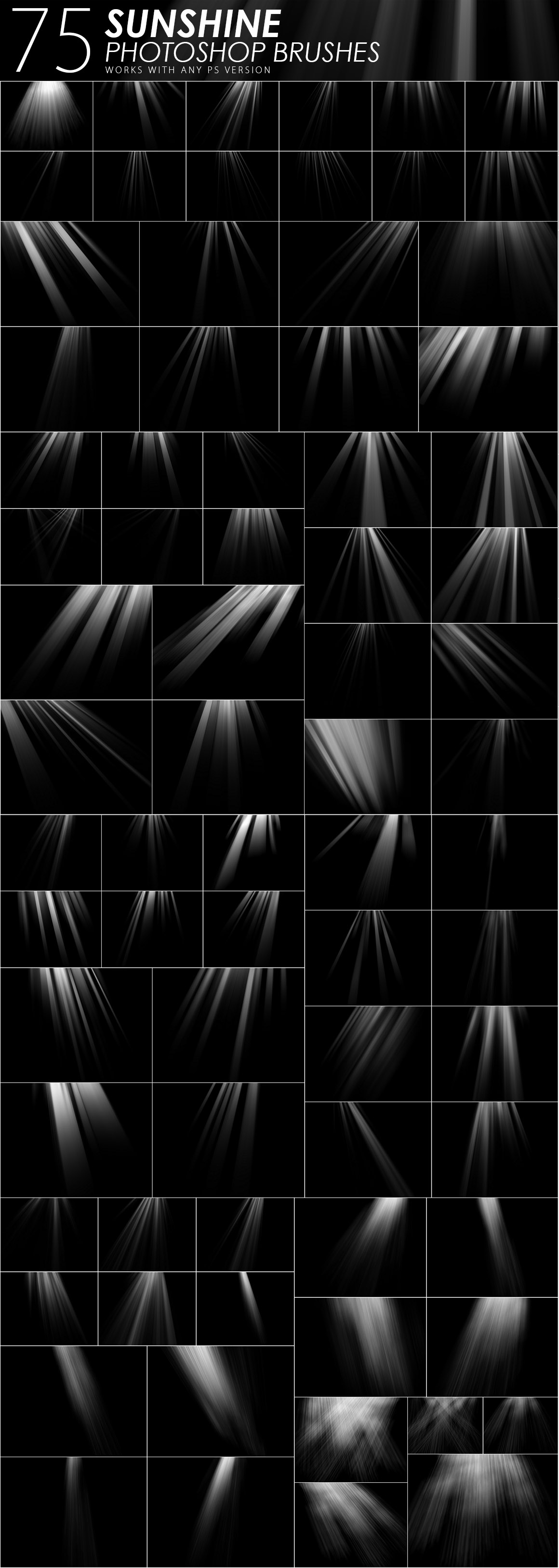 1505 Visual Effect Photoshop Brushes example image 17