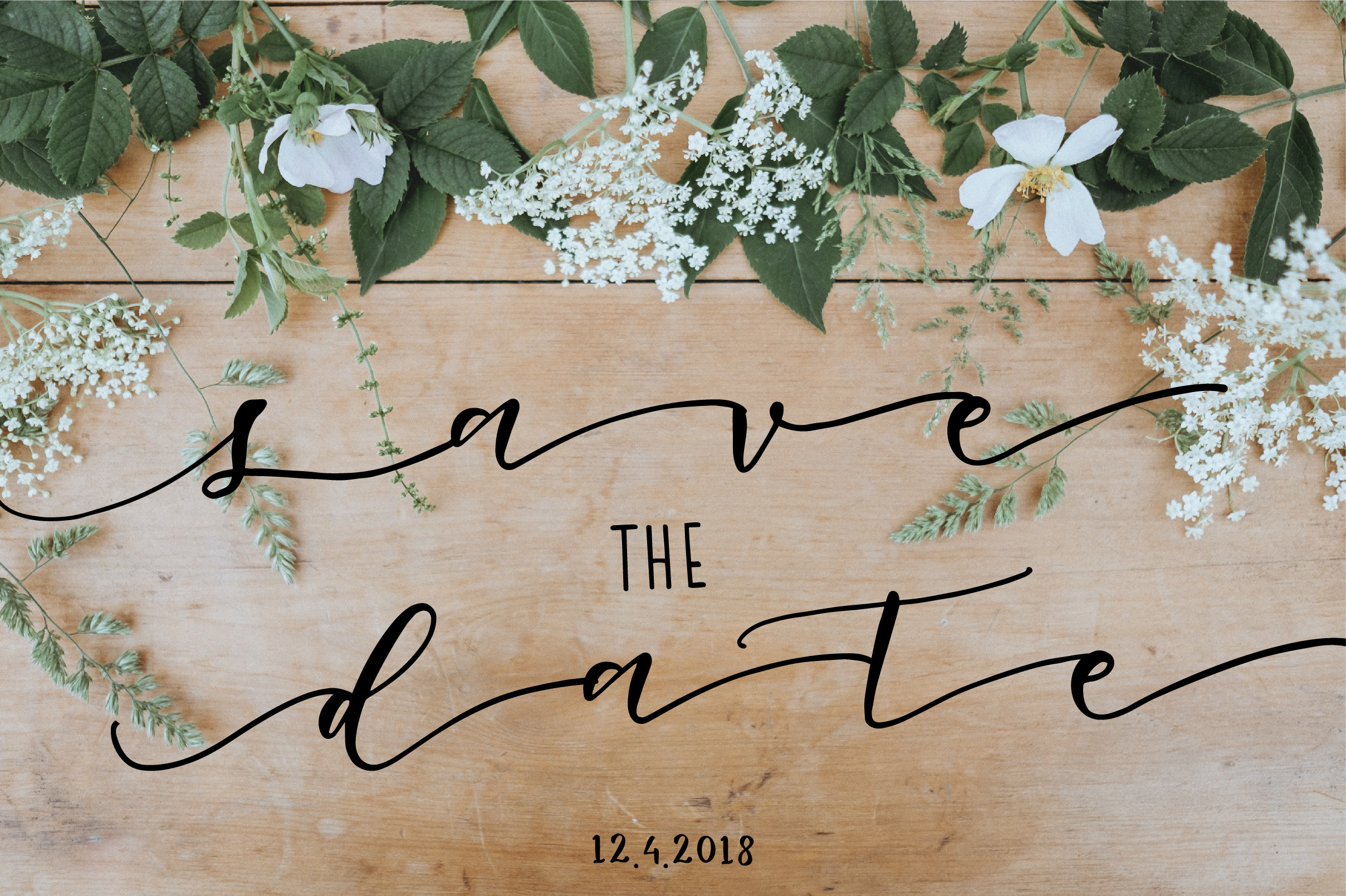 Oh Lovely Day Font Trio + Logos example image 6