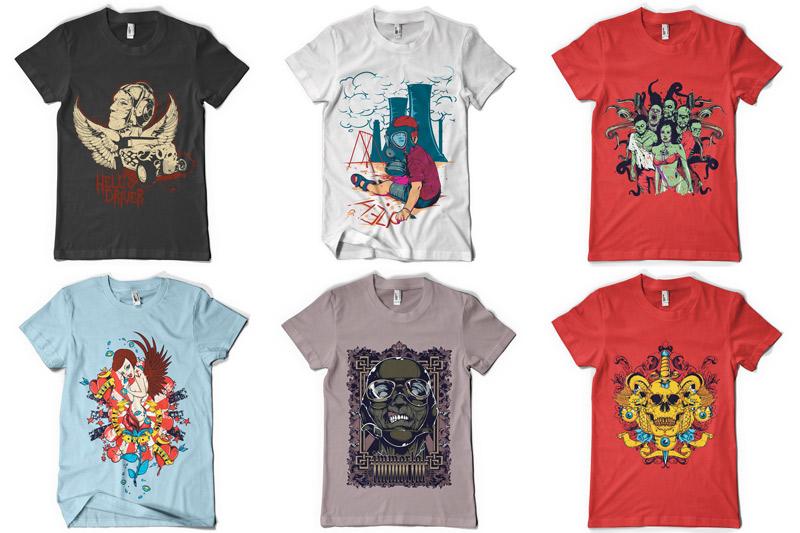 100 T-shirt Designs Vol 4 example image 9