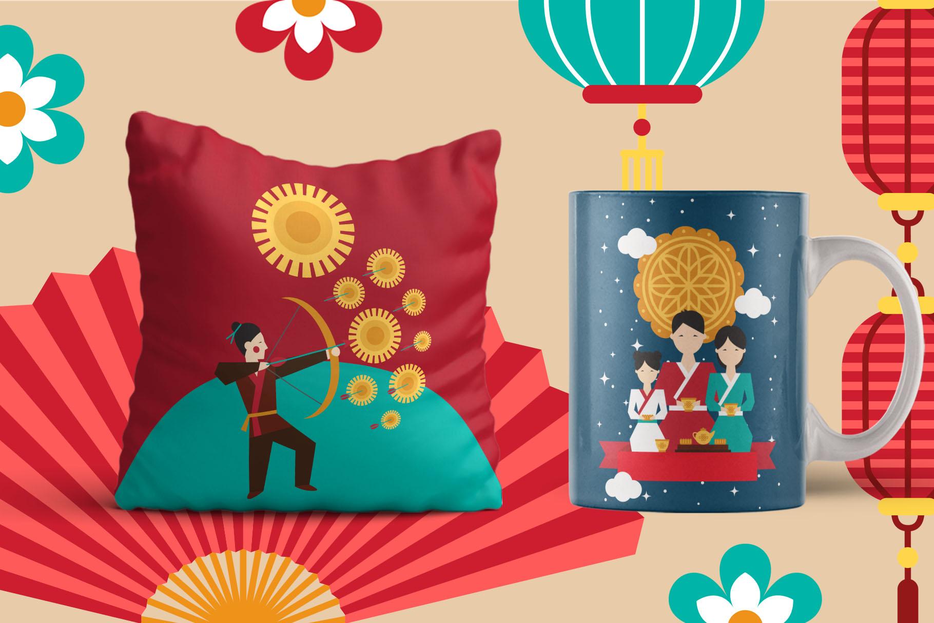 Mid Autumn Festival - China folk kit example image 6