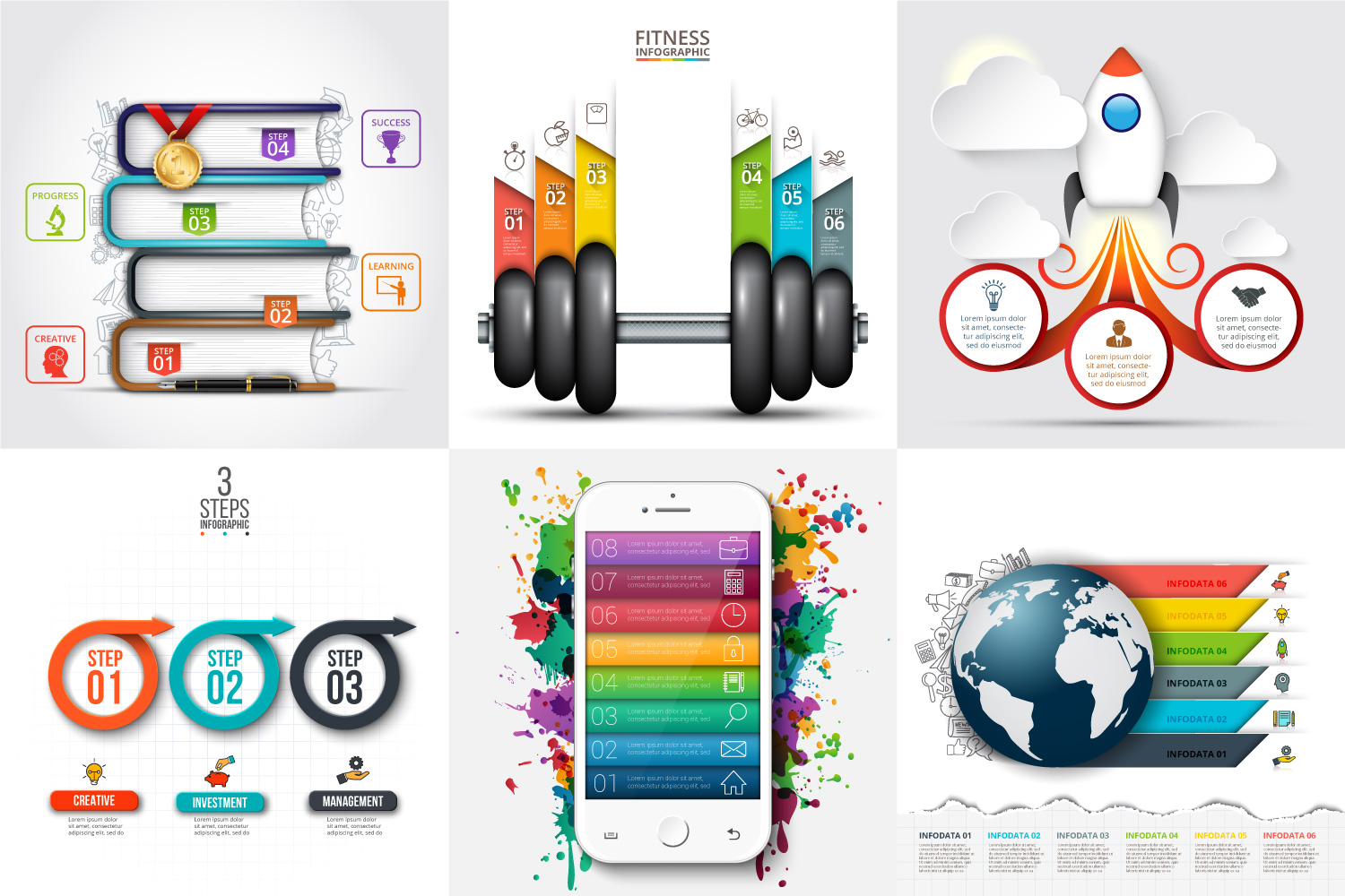 30 business infographic templates example image 4