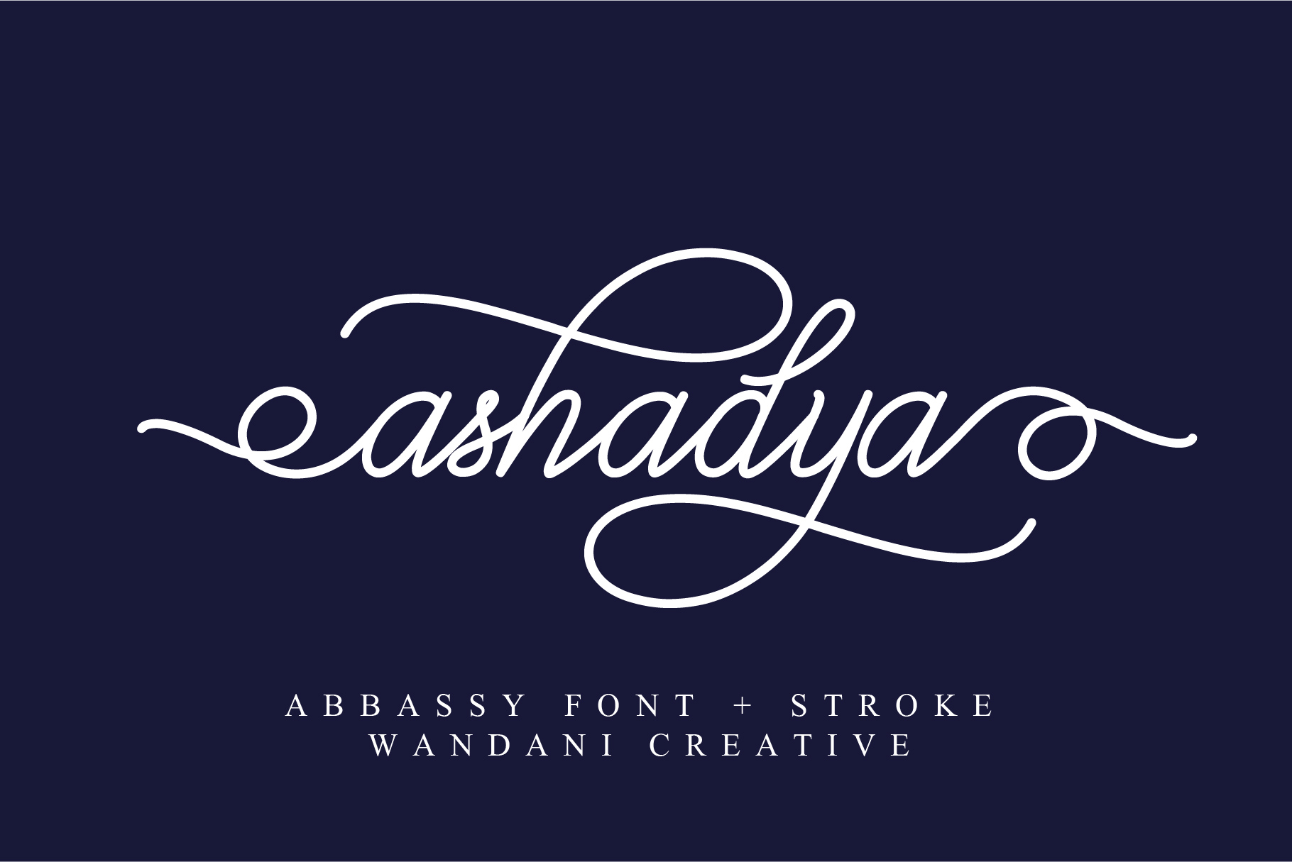 Abbassy Script example image 5