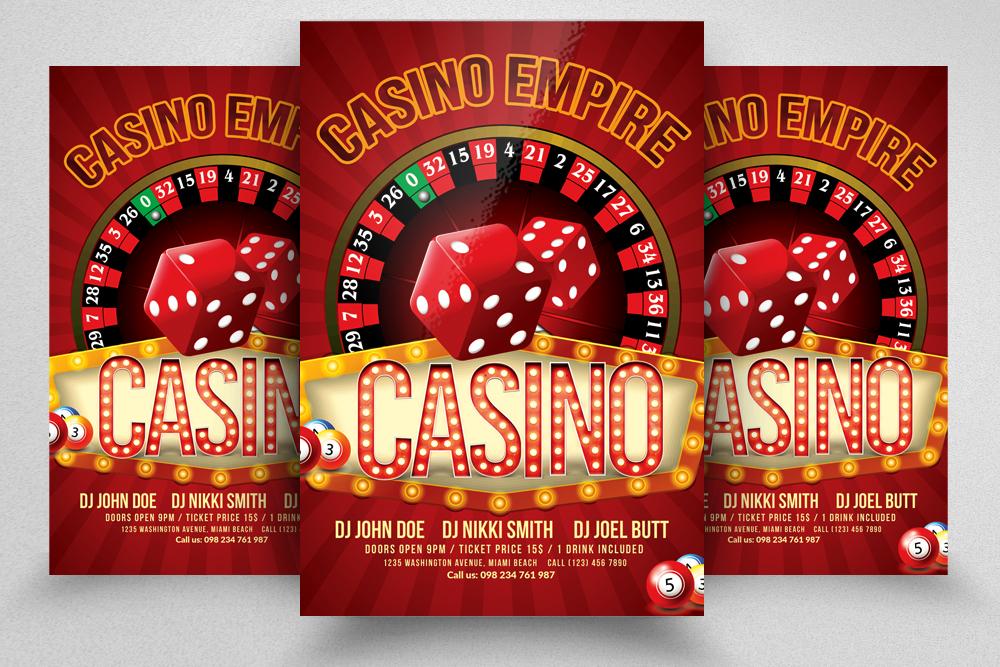 10 Casino Flyers Bundle example image 7