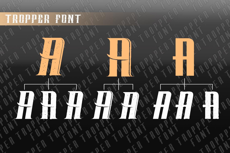 Tropper - 10 Elegant Fonts example image 6
