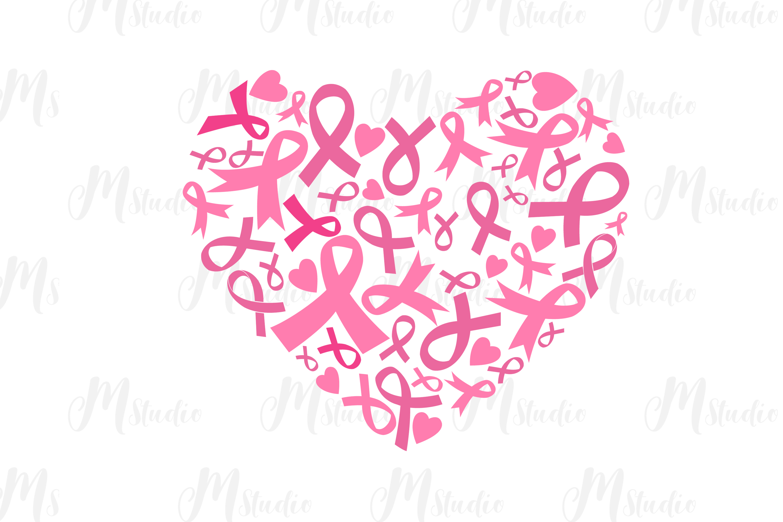 Cancer Awareness bundle SVG example image 15