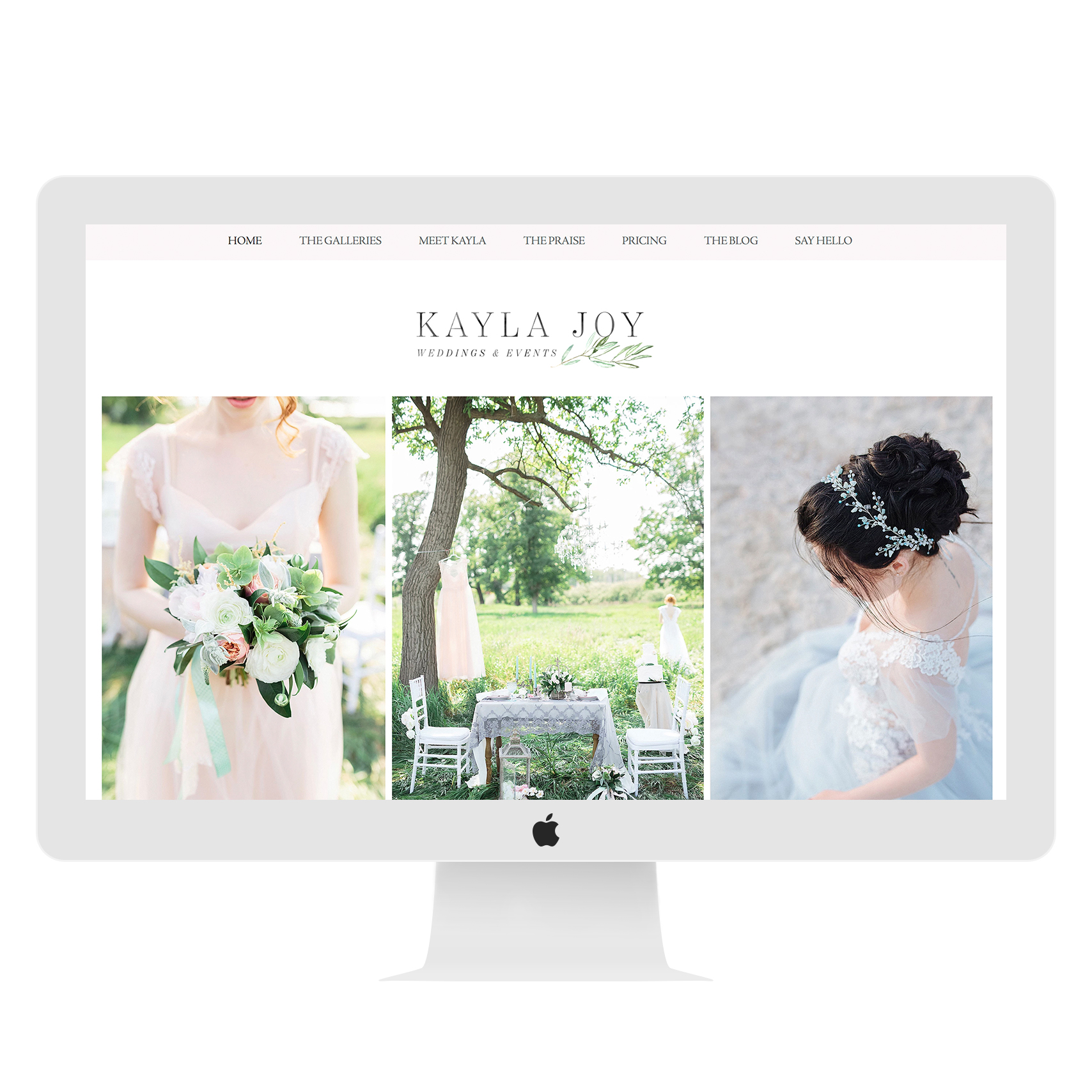 Wix Photography Website Template (15757)