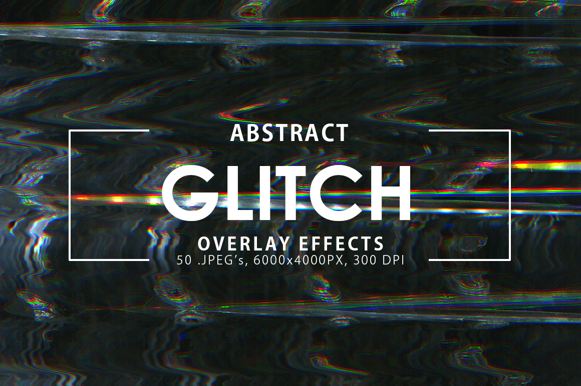 Glitch Overlay Effects example image 1