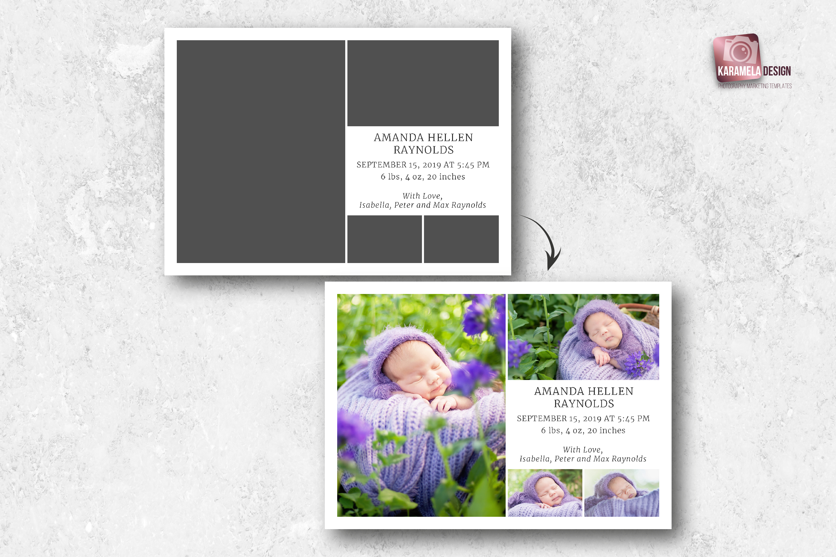 Birth Announcement Template example image 3