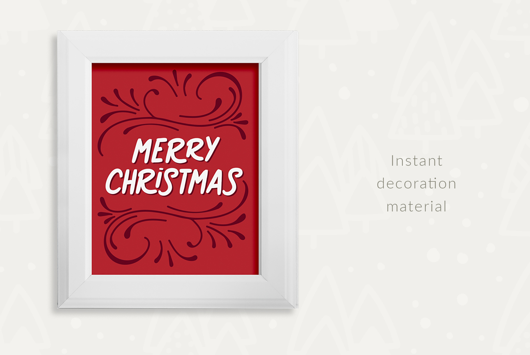 Sweet Christmas Cards & Posters example image 3
