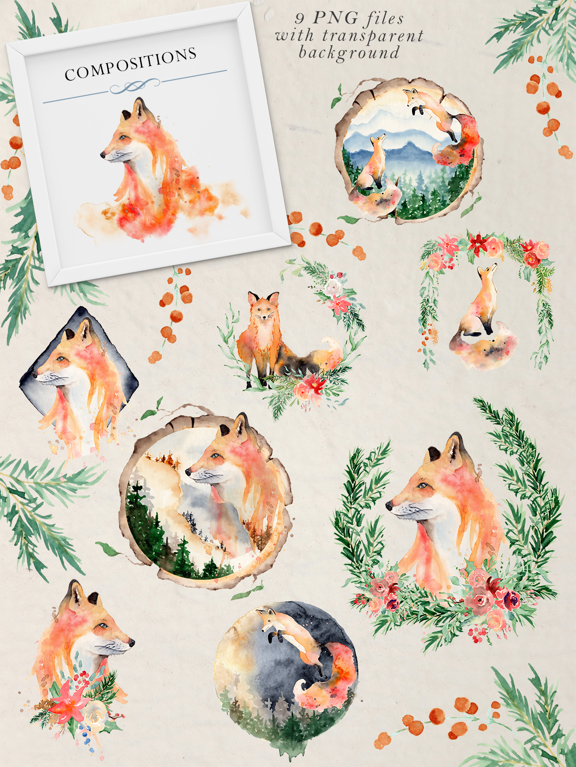 Woodland story Vol.2 Foxes example image 2