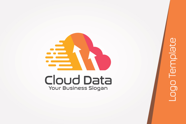 Cloud Data Logo Template example image 2