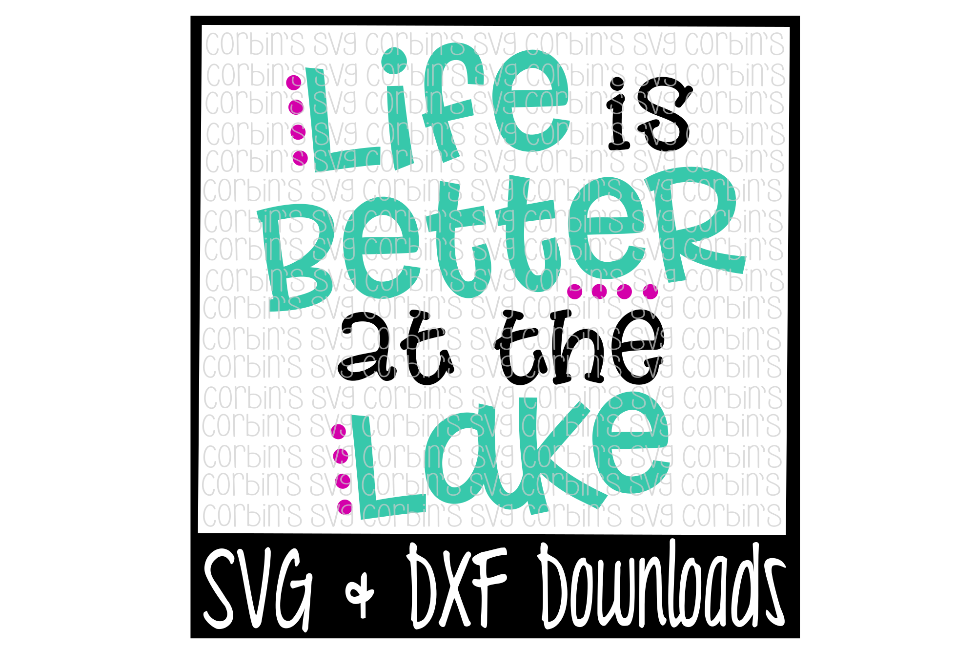 Life Is Better At The Lake example image 1