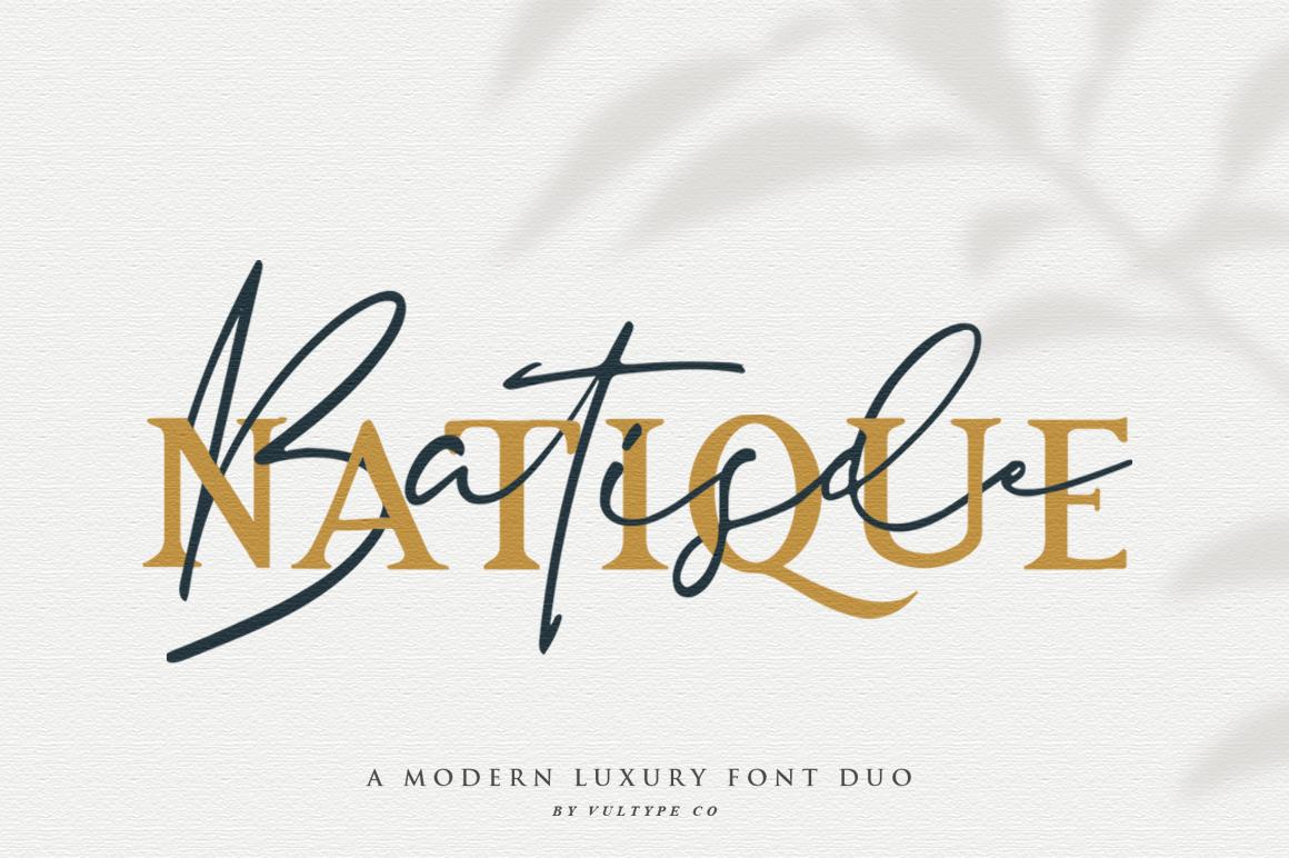 Batisde Font Duo example image 12