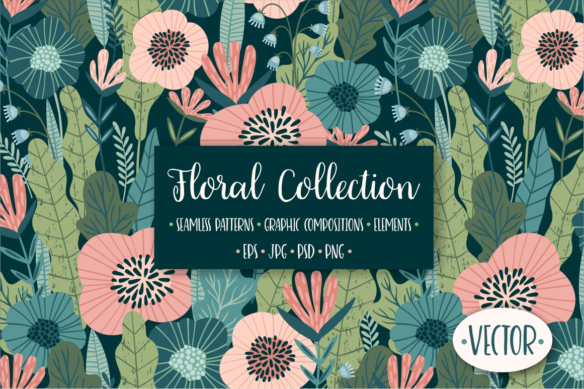 Vector Floral Collection example image 1