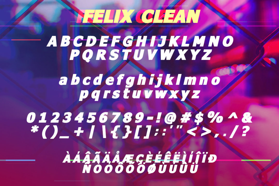 Felix Duo Font example image 6