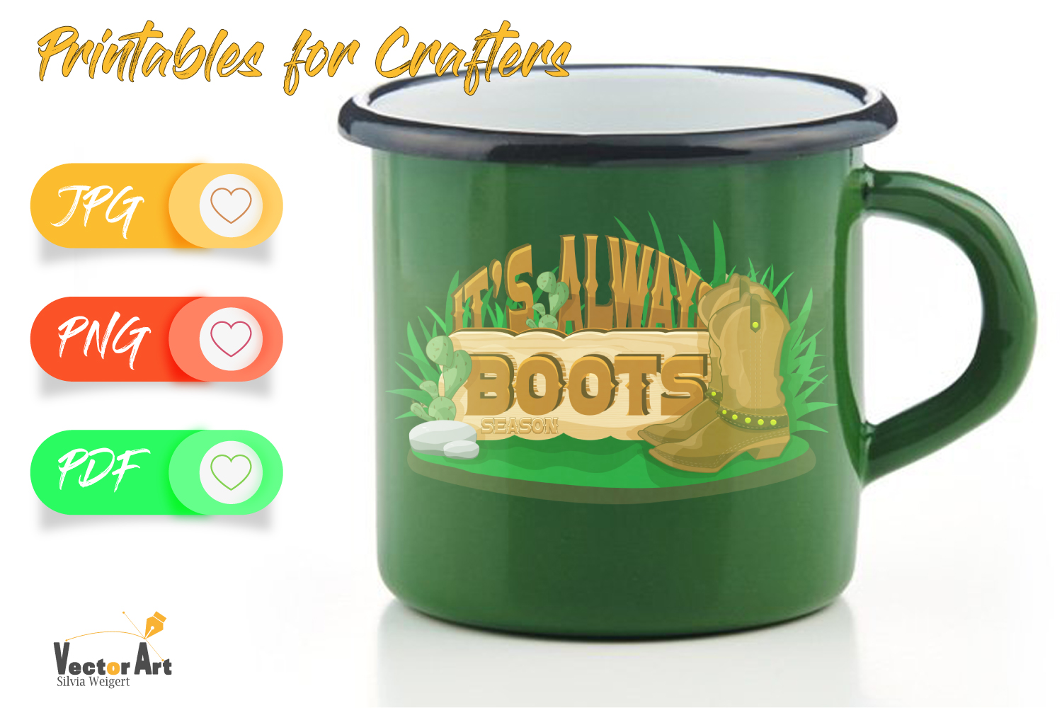 It's always boot season - Printables for Crafters example image 3