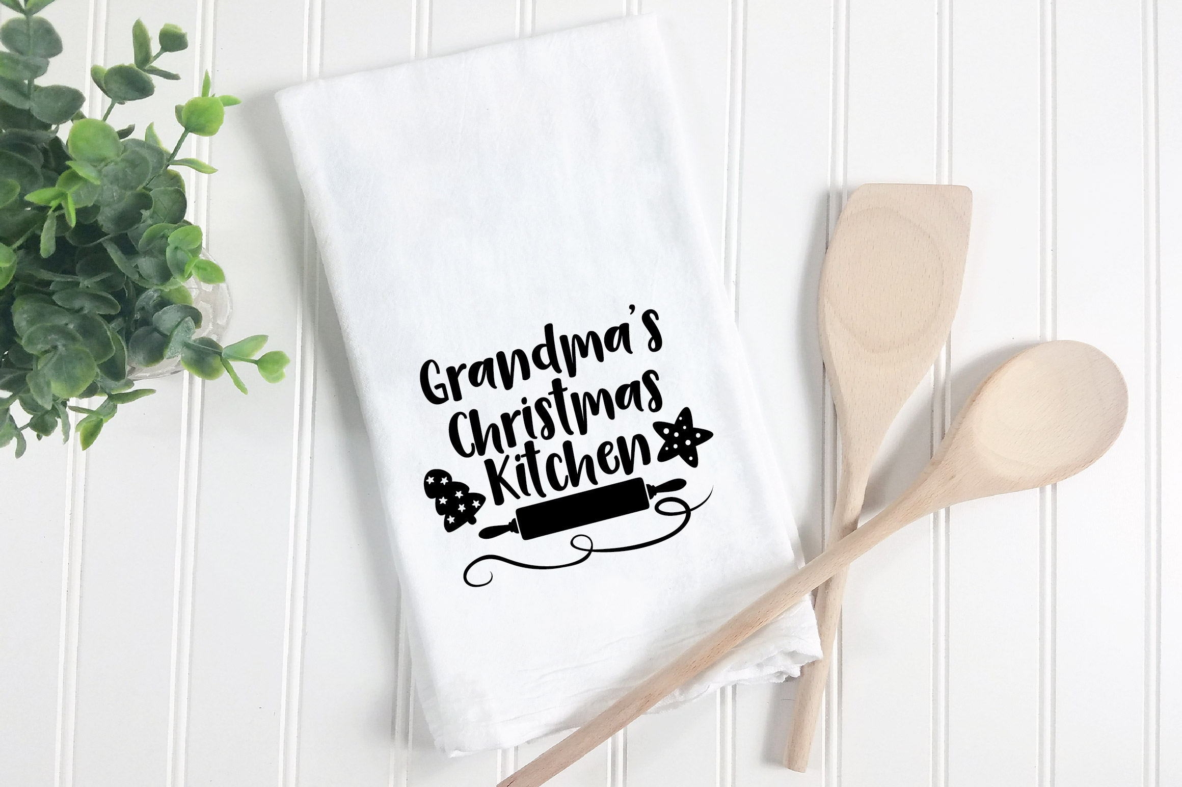 Christmas SVG Cut File - Grandma's Kitchen SVG DXF PNG EPS example image 3