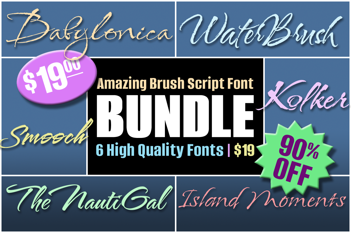 Amazing Brush Scripts-- HUGE DISCOUNT! example image 1