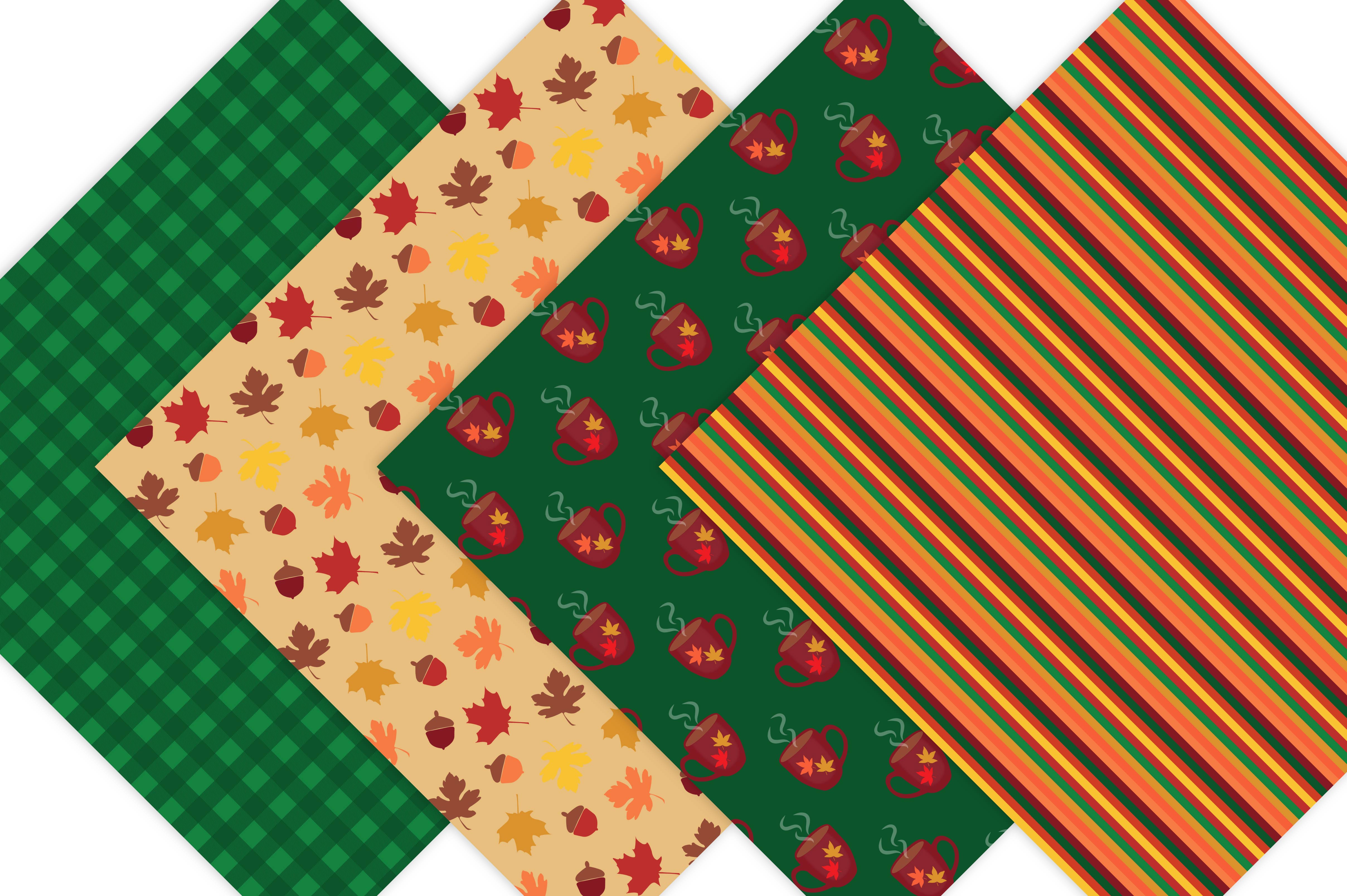 Fall Digital Patterns example image 5