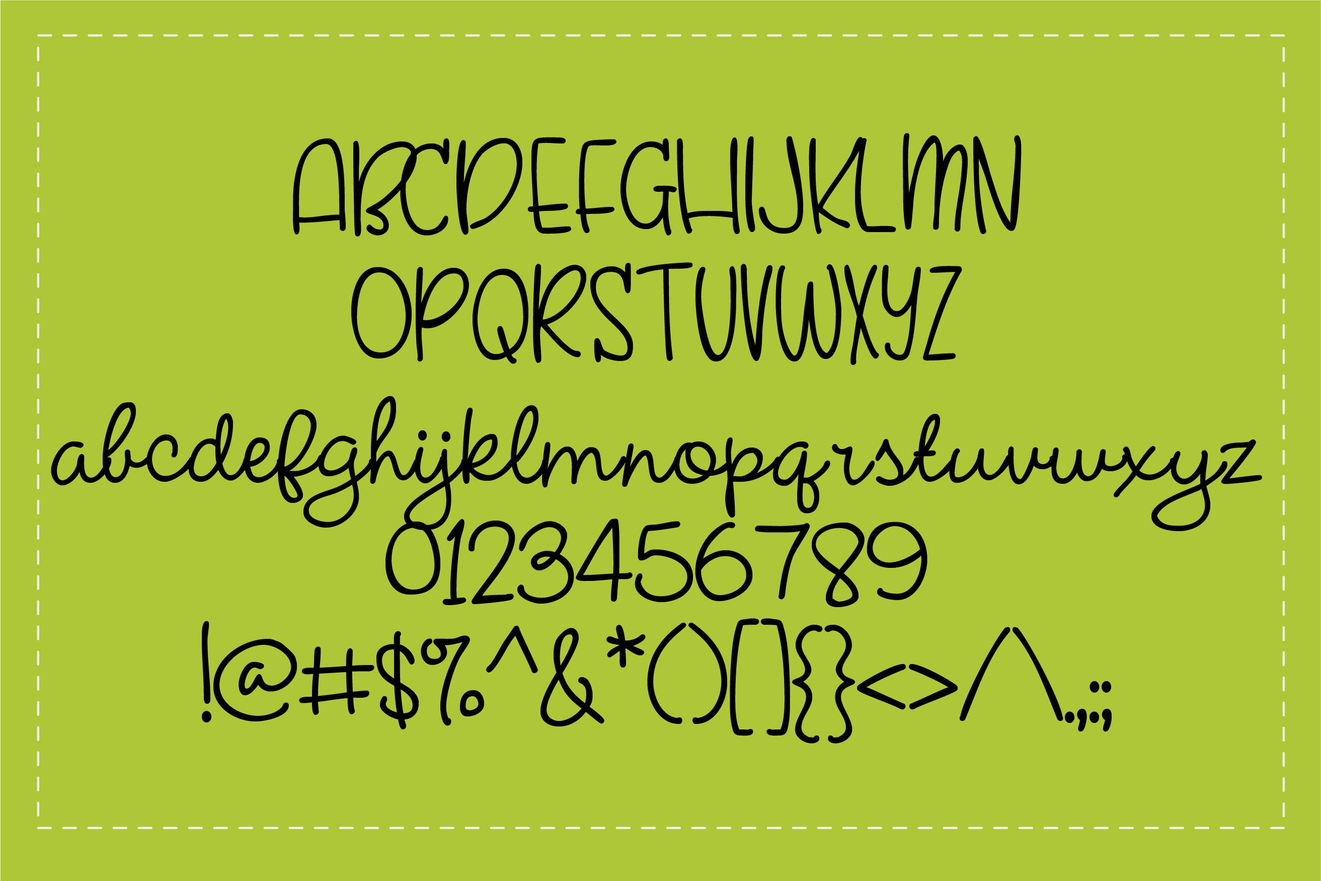 PN Farmhouse Handwriting example image 2