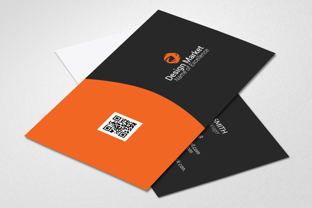 Business Cards Print Template example image 2