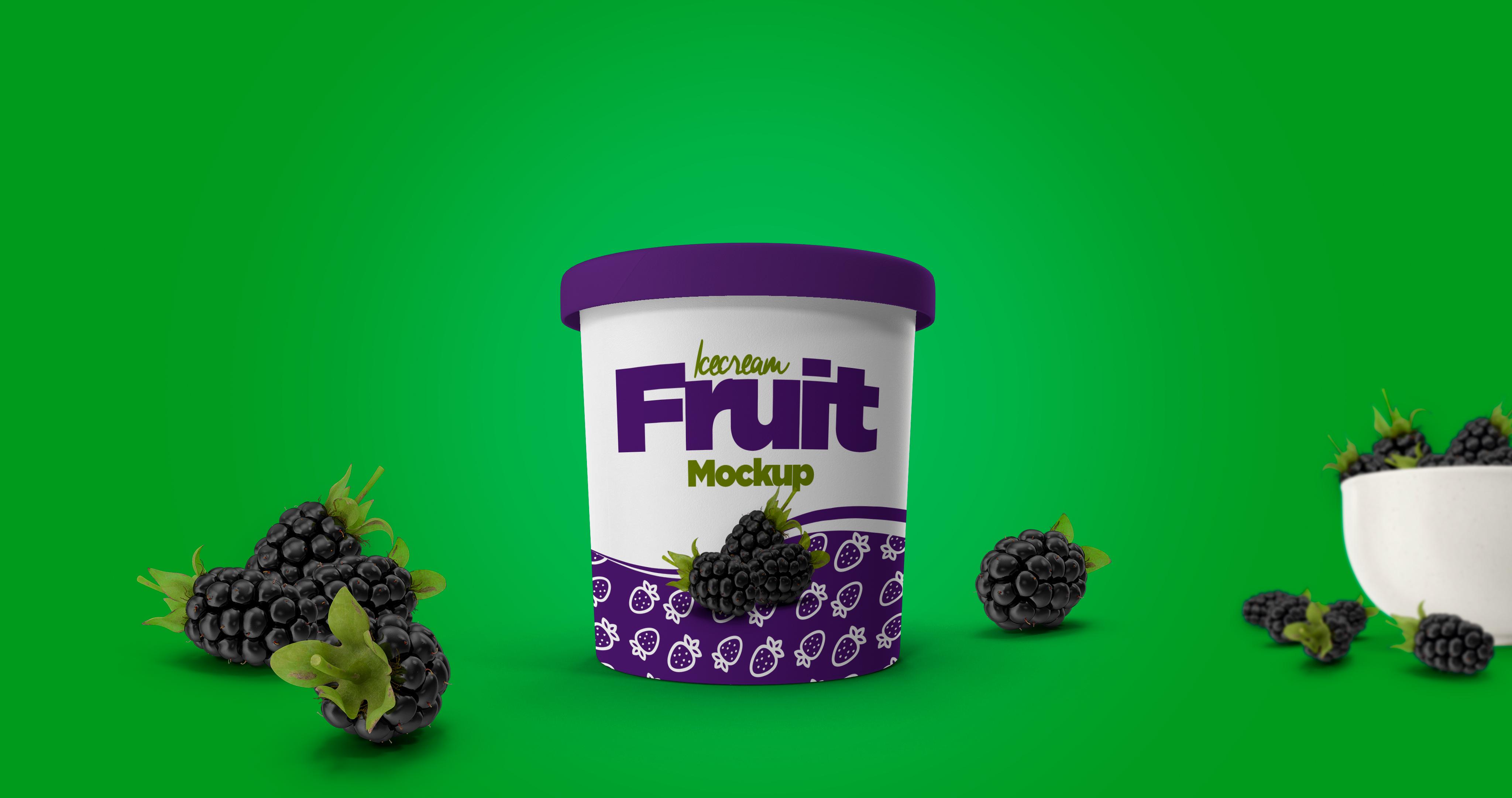 Ice Cream Cup Mockup example image 6