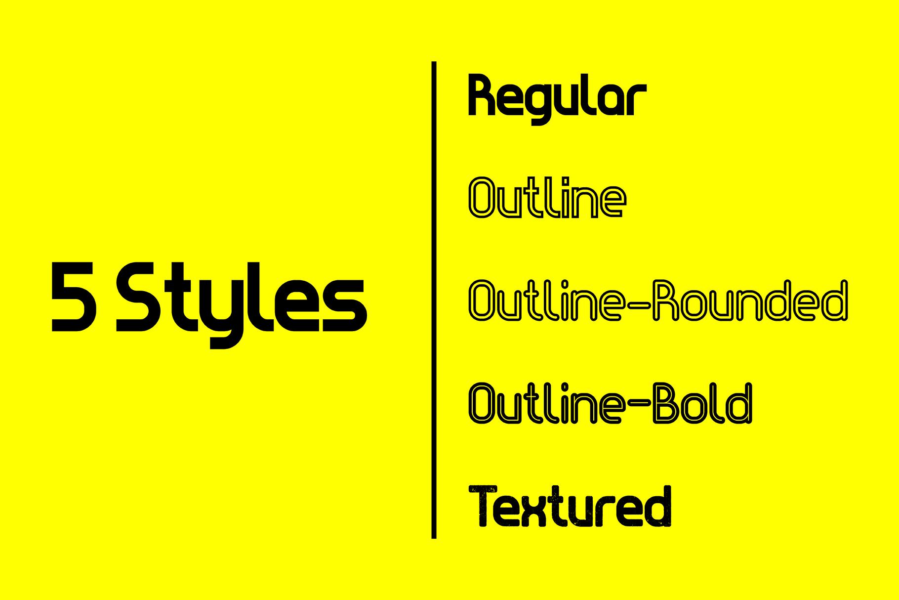 Evo - Sans&Decorative Typeface example image 2