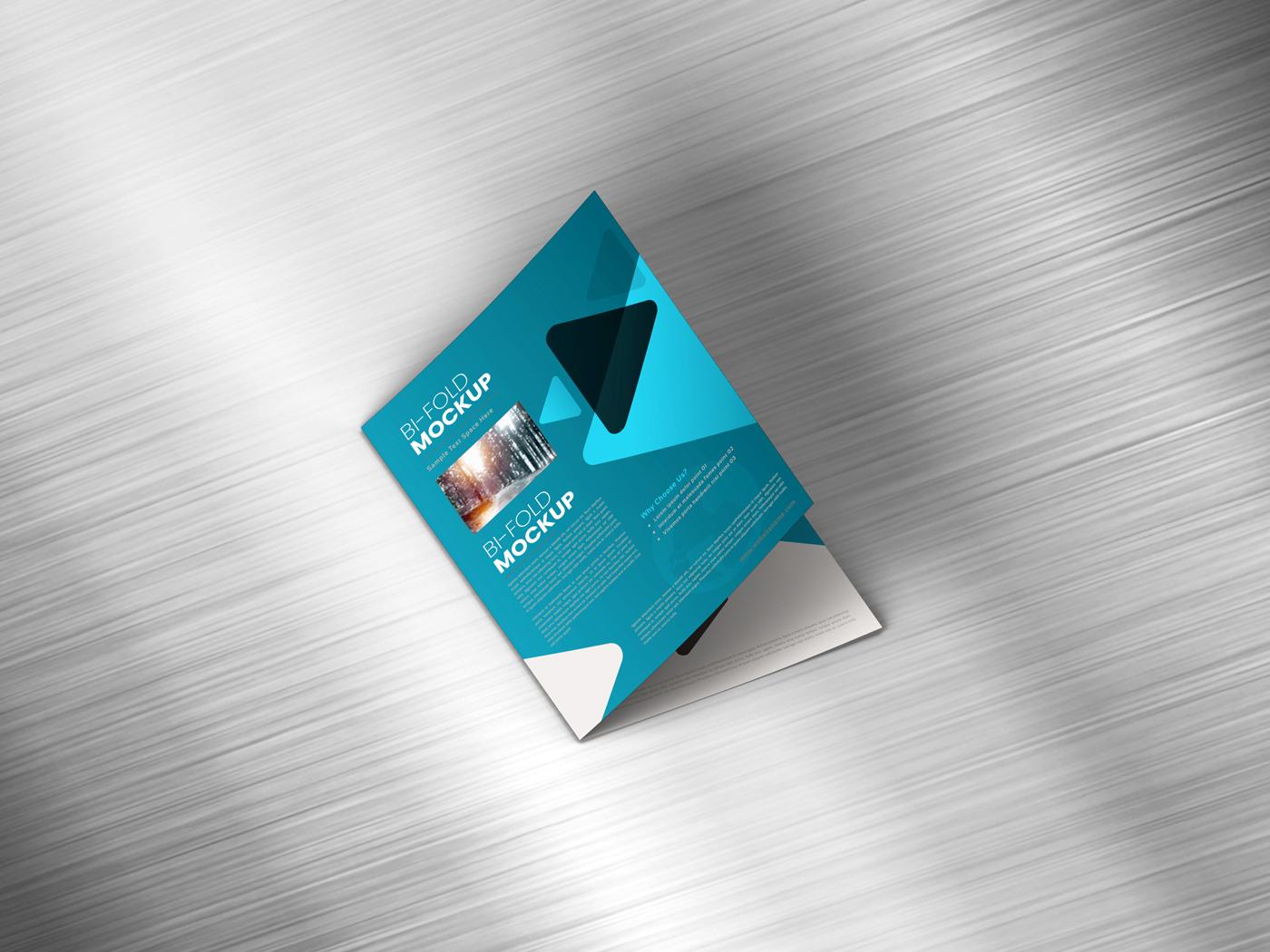A4 Bifold Mockups V2 example image 12