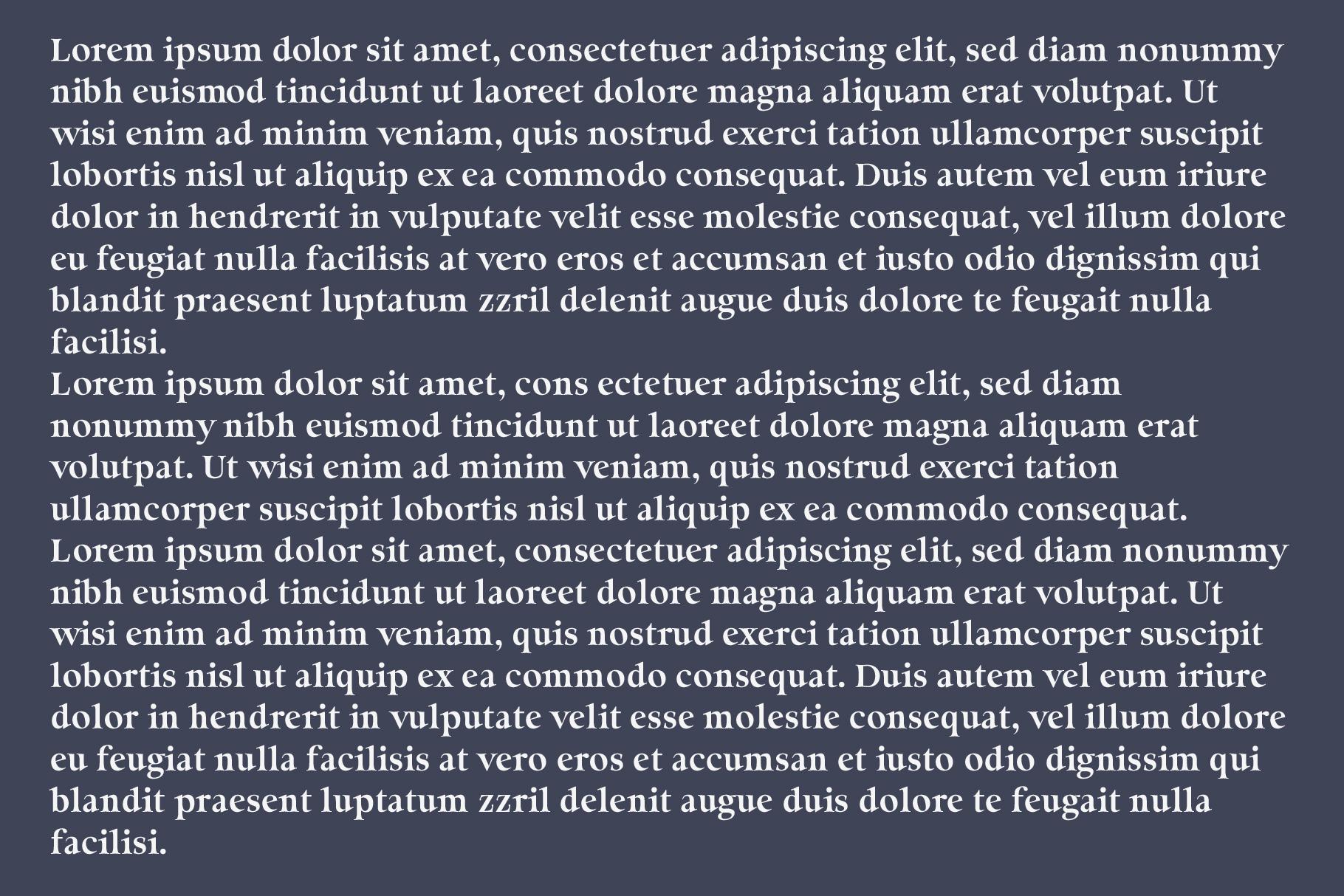 Milky Soft - Elegant serif font example image 5