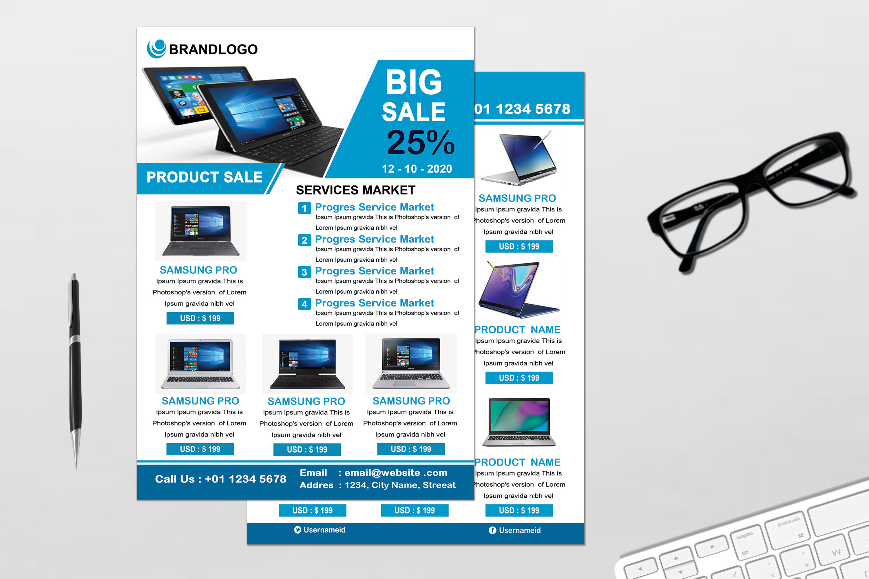 Product Promotion Flyer example image 1