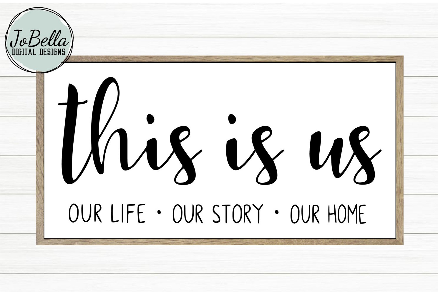 This Is Us SVG and Printable Farmhouse Design example image 1