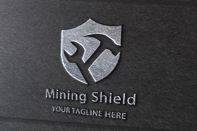 Mining Shield Logo example image 2