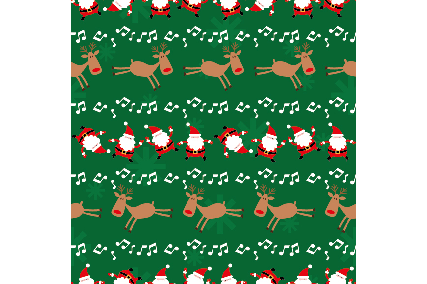 Christmas Patterns Collection. 12 of the jpeg files in resolution 4167*4167 px and 12 files eps8. example image 9