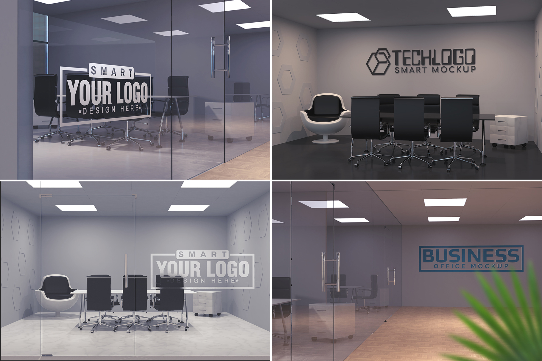 100 Logo Mockups Bundle Vol.3 example image 4