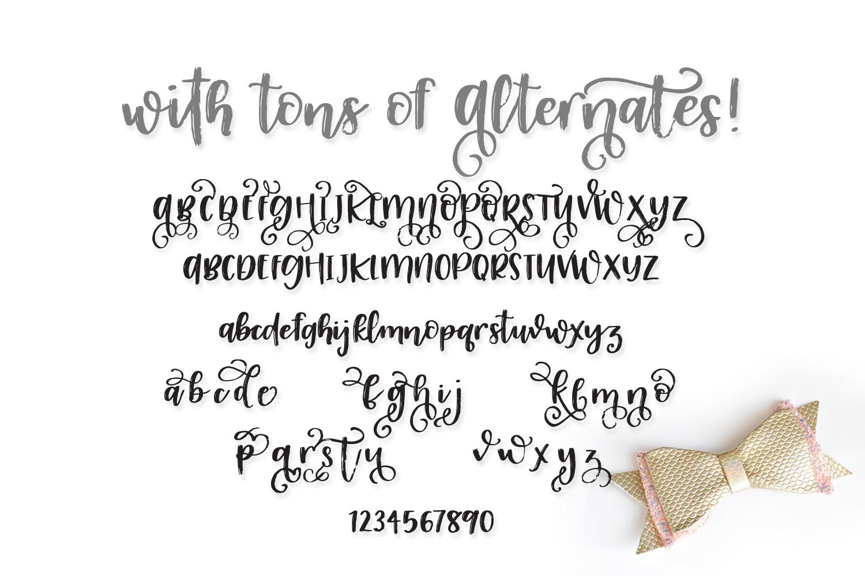 Lizabette Font example image 3
