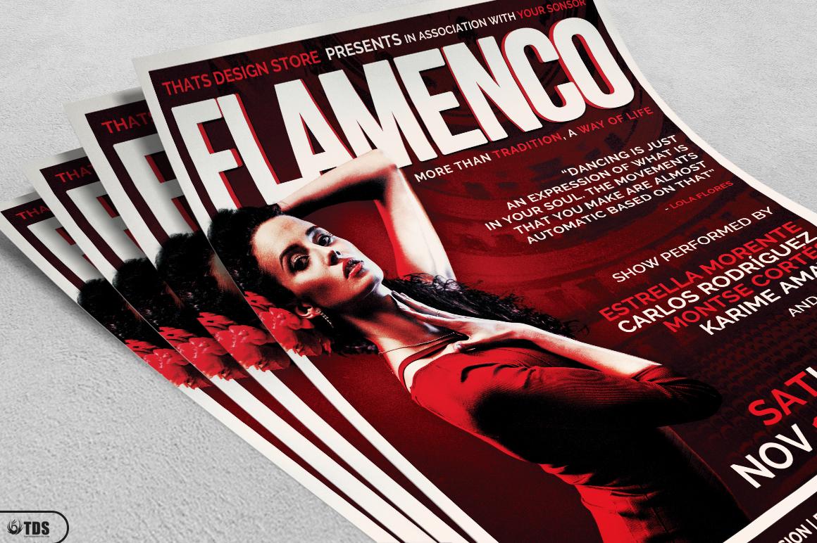Flamenco Flyer Template V1 example image 4