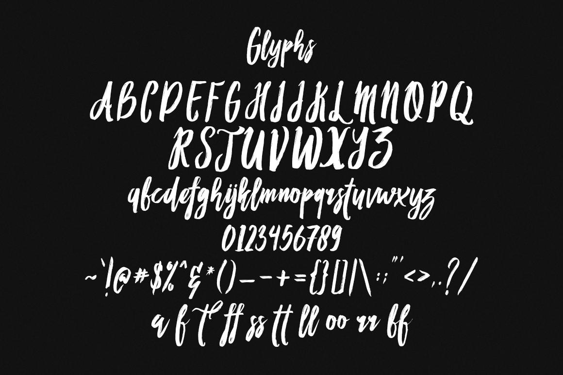 Habbit Typeface example image 3