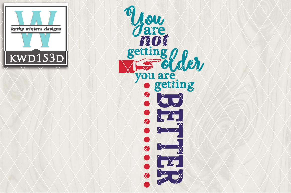 Birthday Cutting File KWD153D example image 1