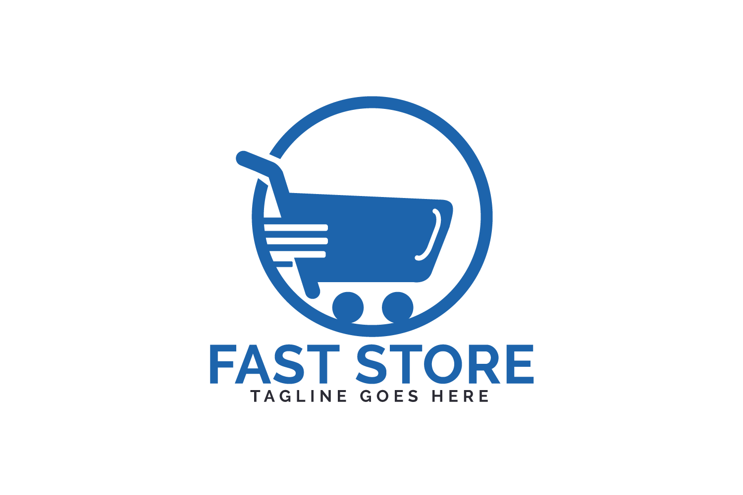 Fast Store Logo Design. example image 2