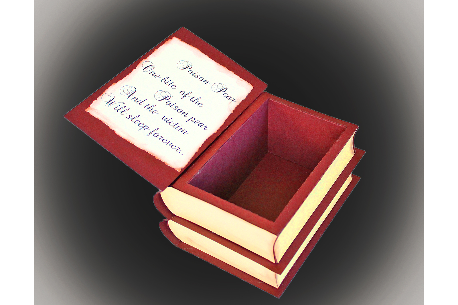 Book of Spell secret box example image 2