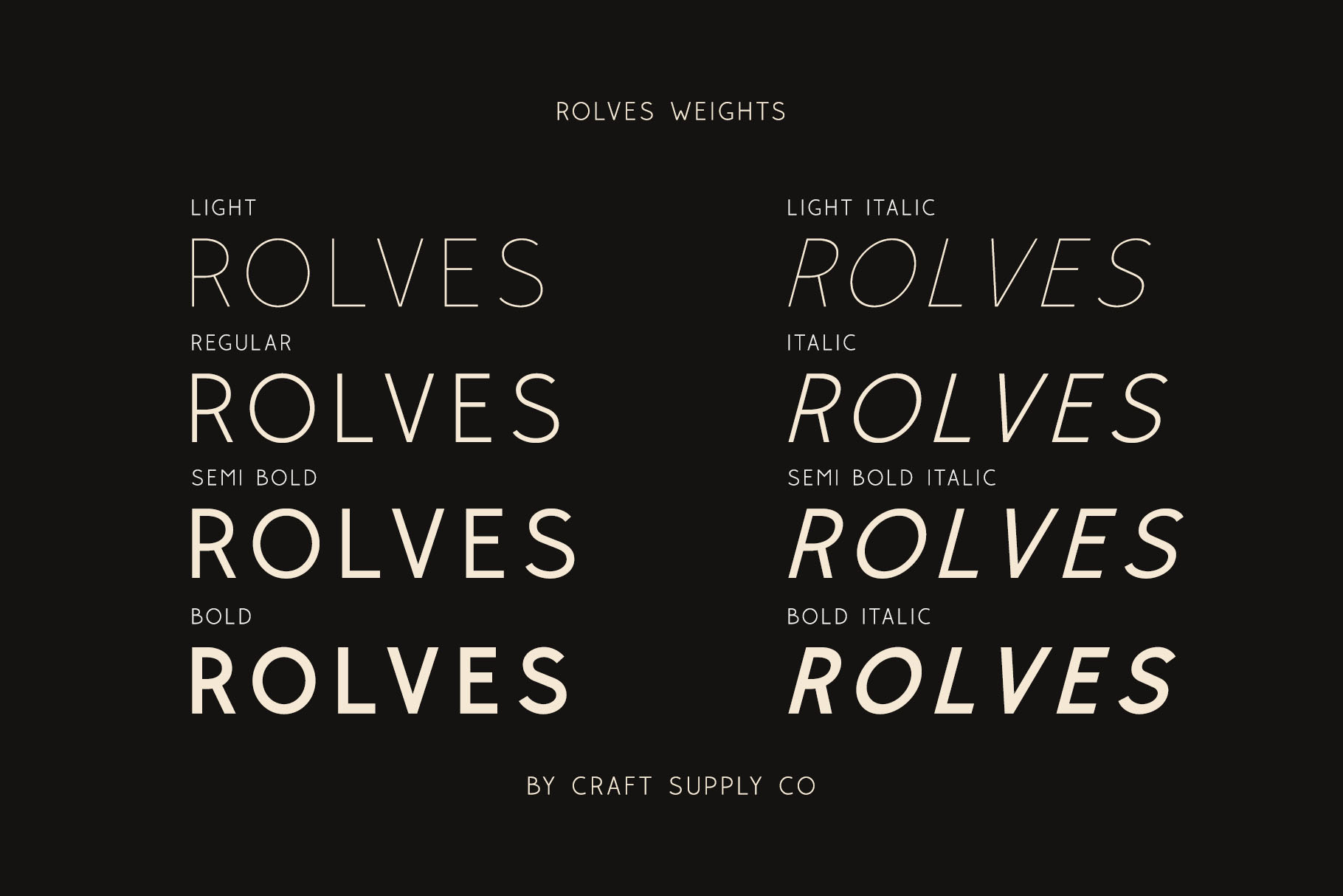 Rolves - Sans Serif Font Family example image 3
