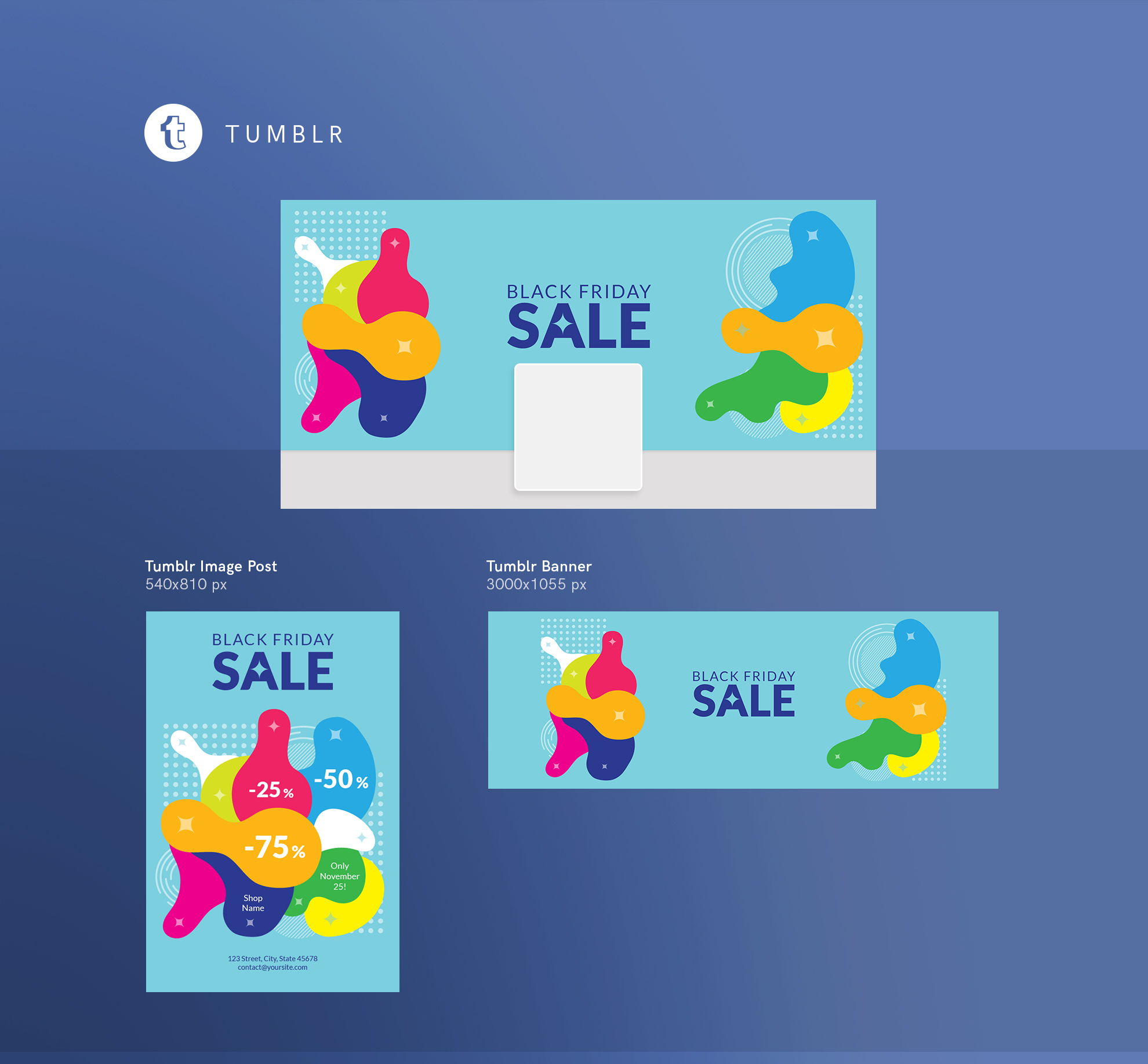 Black Friday Sale Design Templates Bundle example image 13