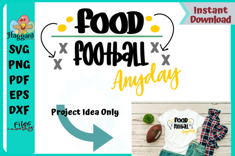 Food Over Football example image 1