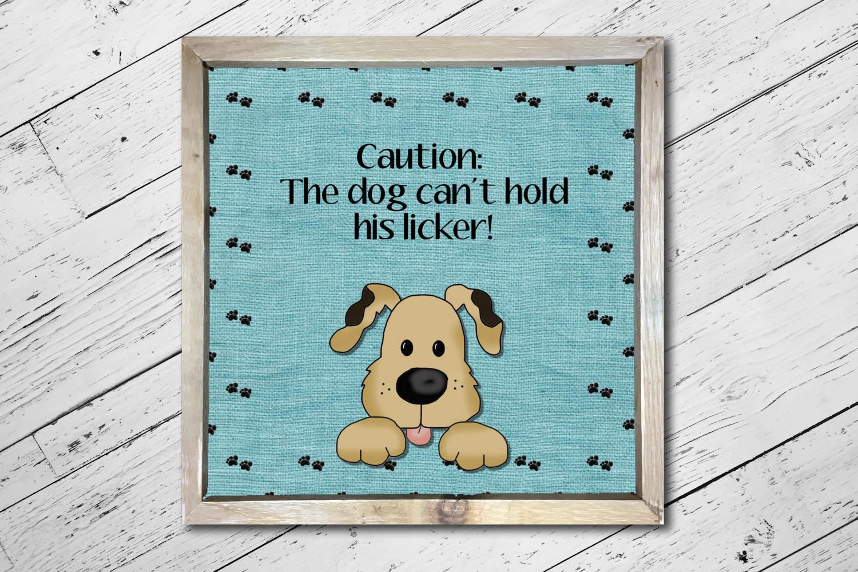 Friendly Dog Print example image 2